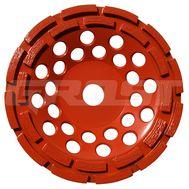 Чашка двурядная D180/22,23/24 (25x6,5x6) GrOST для мозаично-шлифовальной машины