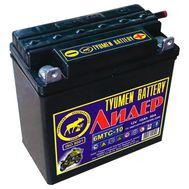 Аккумуляторная батарея Tyumen Battery Лидер 12В 9-10Ач
