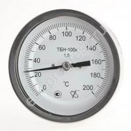 Биметаллический термометр ТБН