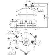 ОПН для сетей 0,22-0,66 - фарфор