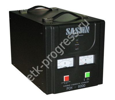 РСН-2000 SASSIN Black series Стабилизатор напряжения релейный