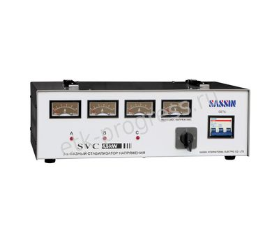 Стабилизатор  SBW-50 kVA  3-фазный