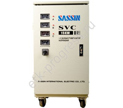 Стабилизатор   в/и  SVC-30 kVA(375x330x800) SASSIN