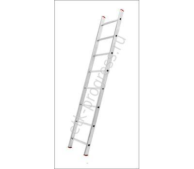 Лестница приставная алюминиевая односекционная